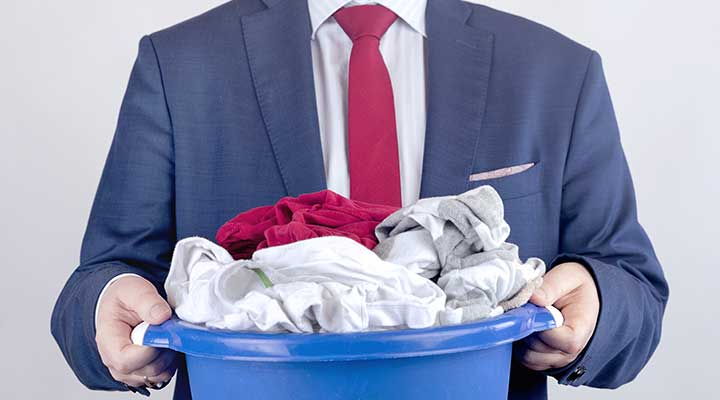 corporate laundry service
