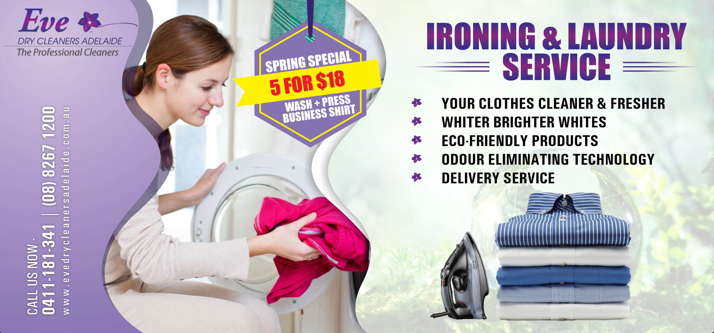 washing and ironing special